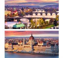 """מיני צ'כיה כולל פראג - 5 ימי טיול מאורגן בין בודפשט לפראג ע""""ב א.בוקר החל מכ-$353* לאדם!"""
