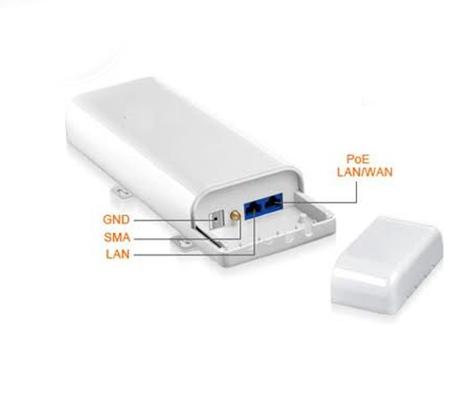 מבריק מגדיל טווח קליטה ושידור אלחוטי עוצמתי של רשת האינטרנט עד 7000 מטר VV-07
