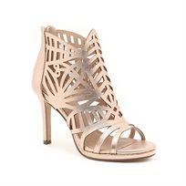 Seventy Nine - נעלי עקב סטילטו גבוהות בצבע בז מטאלי