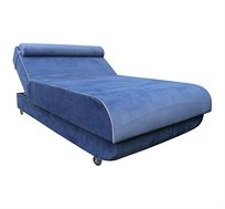 מיטה ברוחב וחצי לנוער בעלת ראש מתכוונן ומזרן ללא קפיצים דגם סילבר במגוון צבעים לבחירה