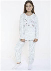 CUTE CAT חליפת פנאי ילדות