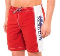 בגד ים NAPAPIJRI לגבר עם תחתון פנימי בצבע אדום ולבן