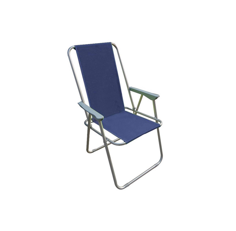 כיסא מתקפל עם משענת גב גבוהה עשוי מבד איכותי ונוח AUSTRALIA CAMP  - תמונה 2