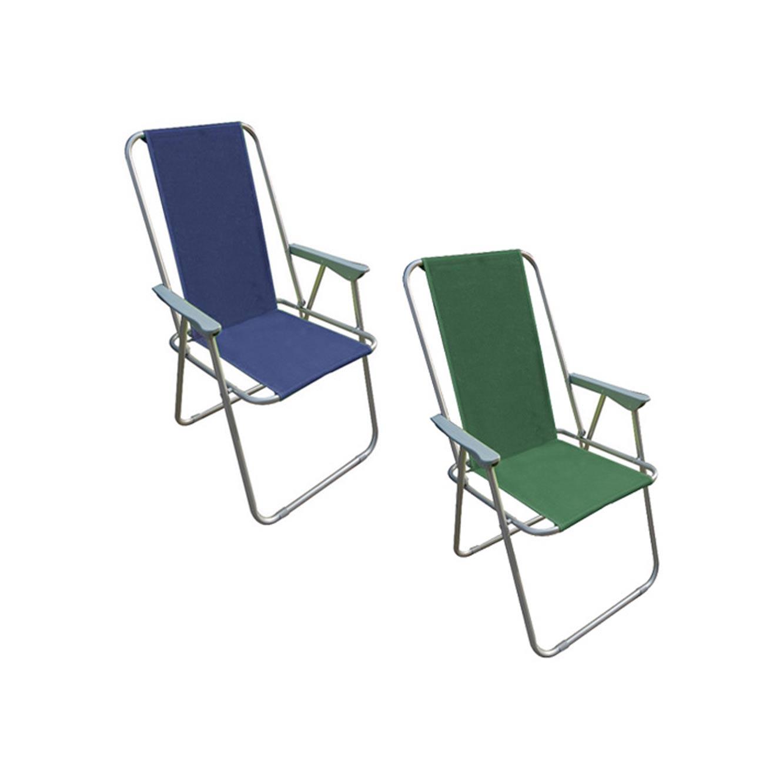 כיסא מתקפל עם משענת גב גבוהה עשוי מבד איכותי ונוח AUSTRALIA CAMP  - תמונה 3