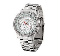 שעון כרונוגרף אנלוגי לגבר - FIRENZE Silver