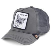 Goorin יוניסקס// Silver Fox Grey כובע מצחייה חיות