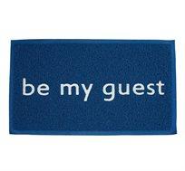 שטיח כניסה לבית דגם be my guest בצבעים לבחירה