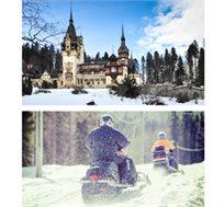 """חוויה בלתי נשכחת! 4 ימי טיול אופנועי שלג ברומניה ע""""ב פנסיון מלא החל מכ-€849* לאדם!"""