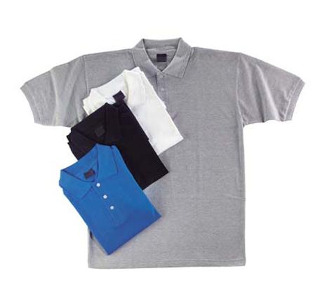 למראה קלאסי ויבש! חולצת פולו איכותית שרוול קצר, מנדפת זיעה בטכנולוגייה ה-Dry-Tech - תמונה 3
