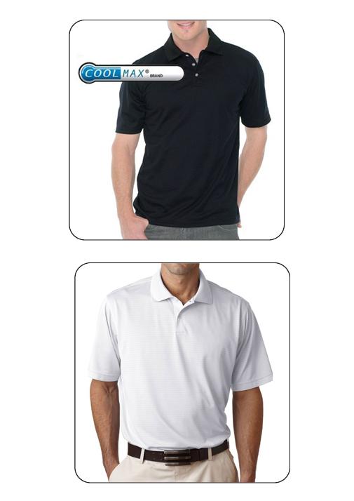 למראה קלאסי ויבש! חולצת פולו איכותית שרוול קצר, מנדפת זיעה בטכנולוגייה ה-Dry-Tech - תמונה 2