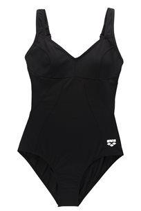 Arena נשים// בגד ים שלם שחור Vertigo