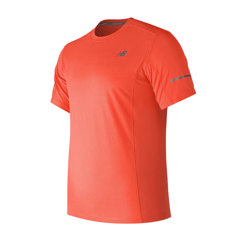 חולצת אימון לגברים - כתום זוהר