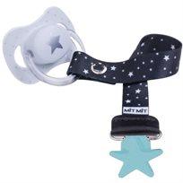 Baby Mitmit תופסן מעוצב למוצץ Galaxy -מנטה