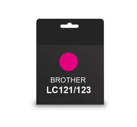 ראש דיו תואם BROTHER LC121/123 אדום