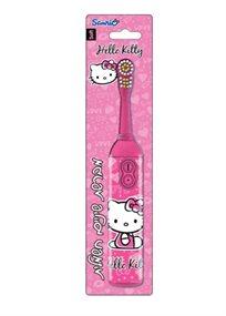 מברשת שיניים חשמלית של Hello Kitty עם טיימר 60 שניות - משלוח חינם!