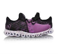 נעלי ריצה מקצועיות לנשים Li Ning ARC Cushion Running Shoes בצבעי סגול/שחור
