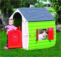 בית קסמים צבעוני לילדים עשוי מפלסטיק קשיח ואיכותי