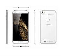 """סמארטפון S6 Hyundai מסך """"5.0 HD מצלמה 13MP אחסון 16GB+מגן מסך וכיסוי מתנה"""