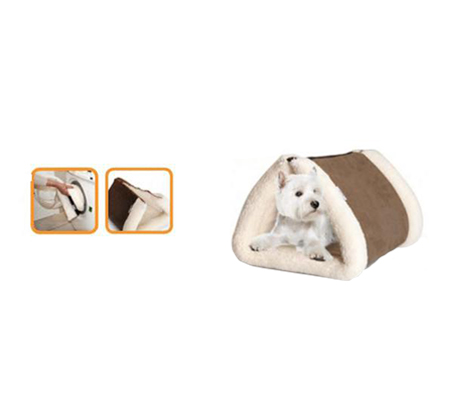 מיטה נפתחת לכלבים בצורת מנהרה או מזרון - תמונה 2