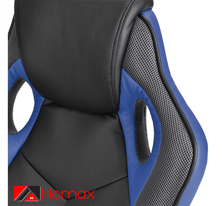 כסא סופר-גיימר Homax מעוצב לבית או למשרד לישיבה ממושכת ונוחה במגוון צבעים לבחירה - תמונה 4