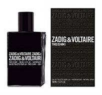 """בושם לגבר This is Him א.ד.ט 100 מ""""ל Zadig & Voltaire"""