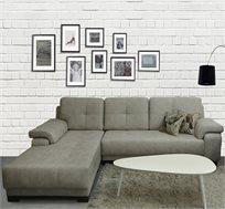 ספה פינתית בריפוד דמוי עור VITORIO DIVANI דגם מרביאה