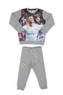 Real Madrid ילדים // סט פוטר רונאלדו אפור
