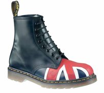 נעלי Dr. Martens יוניסקס - דגם Union Jack 8 Eye Boot