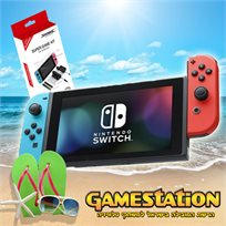 Nintendo Switch נינטנדו סוויץ' גרסת קיץ!!