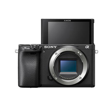 מצלמת סטילס דיגיטאלית מסדרת אלפה ללא מראה Mirrorless מדגם ILC-E6400