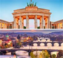 """הערים המוזהבות בין ברלין לפראג, טיול מאורגן ל-8 ימים ע""""ב א.בוקר החל מכ-€579*"""