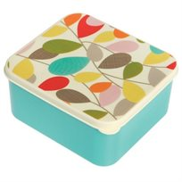 קופסת אוכל מעוצבת עלים צבעוני לנשיאת מזון מבית REX
