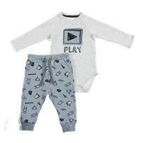 Minene חליפת בגד גוף (0-18 חודשים) - PLAY