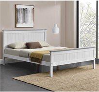 מיטה זוגית מעץ מלא דגם LITAL