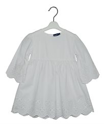 שמלה עם גימור תחרה