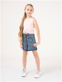 חצאית גינס כפתורים
