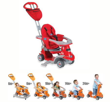 אולטרה מידי סמארט טרייק דגם Smart Trike All In One 6-in-1 מלווה את התינוק מגיל WB-59