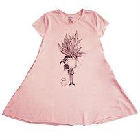 שמלה NO BIGGIE לתינוקות (מידות 12 חודשים-12 שנים) ורוד