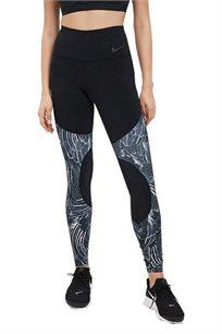 מכנסי טייץ Nike לנשים בצבע שחור
