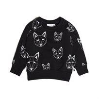 Tobias & The Bear חולצת פוטר (6-0 שנים) - שועלים שחור