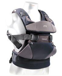 מנשא לתינוק עם 3 תנוחות נשיאה M1 צבע שחור/אפור