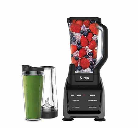 נוטרי בלנדר ושייקר חכם NINJA Intelli-Sense Blender Duo דגם CT641T מתצוגה