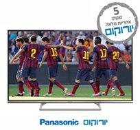 """טלוויזיה """"42 100HZ SMART TV FHD LED מבית PANASONIC עם אינטרנט אלחוטי ועידן + מובנה, כולל חבילת VIP"""