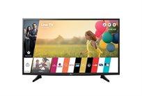 """טלוויזיה LG מסך""""43 FHD פאנל IPS עיבוד תמונה 900PMI מערכת הפעלה web OS 3.0 + משלוח והתקנה!"""