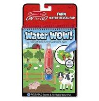 חוברת טוש מים חווה