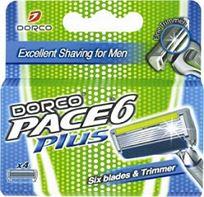 סכין הגילוח DORCO בעל 6 להבים