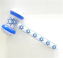 יום כחול לבן! פטיש אורות מתנפח בצבעי דגל ישראל לכבוד יום העצמאות
