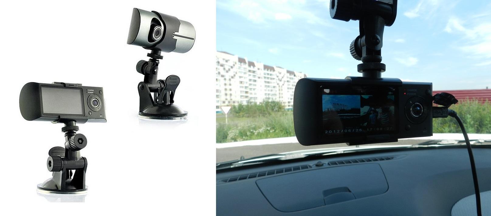 מצלמת דרך דואלית HD ,הכוללת GPS לניתוח מסלול הנסיעה ו-2 מצלמות לתיעוד הנסיעה ולתיעוד פנים הרכב - משלוח חינם - תמונה 3