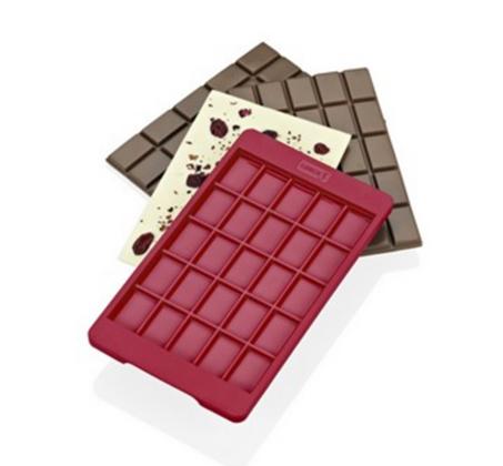 תבנית סיליקון להכנת חפיסת שוקולד - LURCH