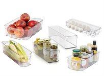 ארגונית מגירות למקרר לאחסון התכולה בצורה יעילה ומסודרת בגדלים שונים החל מ-₪75
